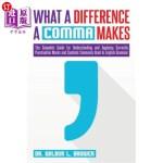 【中商海外直订】What a Difference a Comma Makes: The Complete Guide