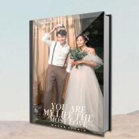 相册定制 水晶相册照片书制作婚纱照影楼结婚影集高端手工个人写真定制
