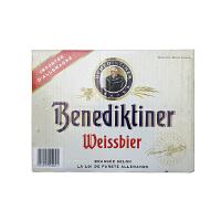 [当当自营]德国进口 百帝王(Benediktiner)小麦啤酒 500ml*20瓶 整箱装