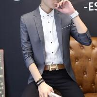 男士西服修身韩版青年西装套装商务职业装新郎礼服大码小西装上衣