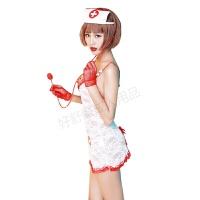 女士性感制服诱惑情趣内衣护士角色扮演套装情趣用品 11145