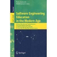 现代软件工程教育:ICSE 2005/会议讲稿(书与在线文件)LNCS-4309:Software engineeri