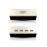 【包邮】Remax 多口USB充电底座 4U2.1A充电器 极速充电usb分线器 带电源