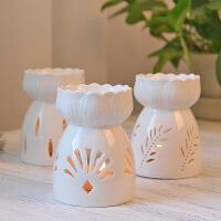 香炉 香薰精油灯禅意陶瓷精油炉蜡烛卧室家用熏香炉浪漫美容院会所