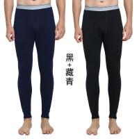 男秋裤男士薄款棉线裤青年打底裤修身保暖裤内裤秋冬衬裤