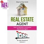 【中商海外直订】Real Estate Agent: How to Become a Successful Real