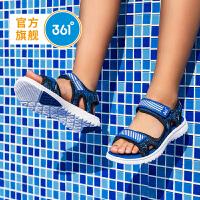 361度童鞋 男童沙滩凉鞋 中大童儿童凉鞋2021年夏季魔术贴沙滩鞋N71922611
