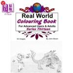 【中商海外直订】Real World Colouring Books Series 13