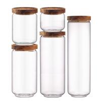 玻璃密封罐大号家用茶叶罐药材罐杂粮储物罐加厚耐高温厨房收纳罐