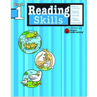Reading Skills: Grade 1 (Flash Kids Harcourt Family Learnin