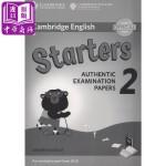 【中商原版】剑桥少儿英语第一级2 英文原版 Cambridge English Young Learners 2 fo
