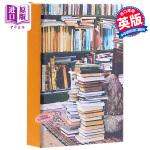 【中商原版】At Home with Books Classic Notecards 英文原版 家居经典书籍样式卡片