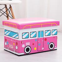 收纳凳 儿童储物凳卡通沙发换鞋椅可坐小凳子长方形家用玩具收纳箱