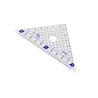 藤井(Raymay)APJ132 10cm三角板三角尺 耐磨不易折断双刻度 2把/套当当自营