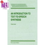 【中商海外直订】An Introduction to Text-To-Speech Synthesis