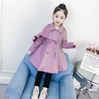 儿童呢子外套冬季2018新款韩版秋冬中长款毛呢大衣女孩