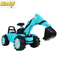 【六一儿童节特惠】 儿童电动挖掘机玩具车可坐可骑宝宝超大号男孩挖土机可遥控工程 遥控