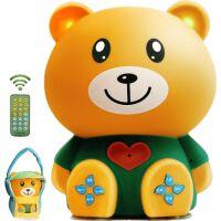婴幼儿童早教机小熊故事机可充电下载MP3宝宝音乐播放器玩具0-6岁