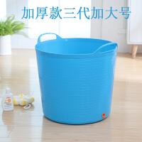 大号加厚儿童洗澡桶宝宝浴桶小孩子泡澡桶塑料沐浴桶婴儿浴盆澡盆 加