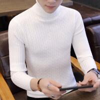 秋冬季毛衣男2018新款潮流韩版男士高领针织衫修身打底衫毛衫线衣