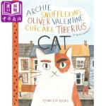 【中商原版】一只很多名字的猫 英文原版 Archie Snufflekins Oliver Valentine Cup
