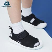 【618年中庆 限时秒杀价:99】迷你巴拉巴拉男童女童凉鞋2020新款宝宝速干防滑儿童易穿舒适单鞋