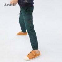 【活动价:166】安奈儿童装男童工装裤2020春季新款长裤潮