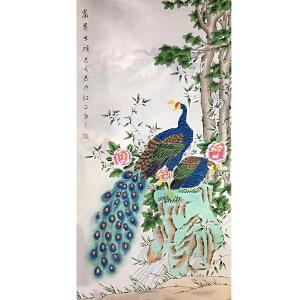 山东菏泽人,中国牡丹书画研究院院长吴绍正(富贵吉祥)35