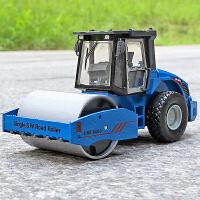 金属压路车精致合金仿真玩具汽车模型s代合金工程车单钢轮压路机