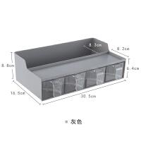 多功能厨房置物架收纳调味盒挂件厨具用品塑料免打孔调味料盒子