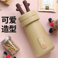 九阳(Joyoung)豆浆机家用小型迷你容量0.3L免过滤豆浆机 mini棕 DJ03E-A1