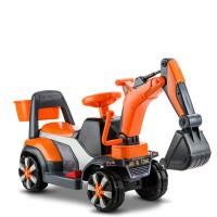 挖挖机可坐大号电动 儿童电动挖掘机玩具车可坐可骑大号音乐男孩挖土机学步滑行工程车 标配