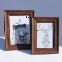 相框摆台 10寸 复古美式风6寸7寸8寸10寸照片相架画框创意相框摆台定做挂墙像框