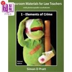 【中商海外直订】Classroom Materials for Law Teachers: Elements of C