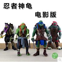 2015电影版忍者神龟真人版莱昂纳多拉�[尔手办公仔模型玩具全4款