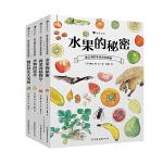 当当独家 盛口满的手绘自然图鉴系列:水果的秘密+蔬菜的植物学+谷物的智慧+餐后骨头大考察(套装共四册)