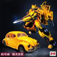 黑曼巴变形玩具 大黄蜂外传甲壳虫汽车机器人拼装模型电影版预售定制 黑曼巴甲壳虫