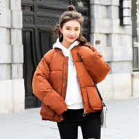 新款羽绒服女短款2018冬季韩版面包服学生棒球服棉衣外套