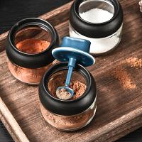 家用厨房收纳密封调味瓶油壶装盐味精调料盒套装