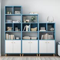 【限时直降】组合书架简约置物架学生卧室落地小书柜简易客厅省空间经济型