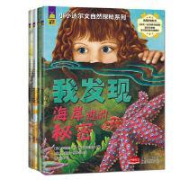 小小达尔文自然探秘系列全4册幼少儿科普百科图书 儿童科普类书籍3-6-7-9-10岁 我发现海岸边的秘密小学生科学书籍