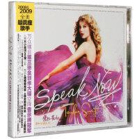 正版 Taylor Swift 泰勒斯威夫特 Speak Now 爱的告白 专辑CD