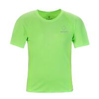 准者夏季新款男士运动服速干透气短袖圆领跑步T恤