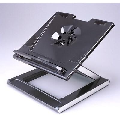 笔记本散热底座,笔记本散热支架,韩国黑钻至冷可升降笔记本电脑台,笔记本升降支架,笔记本电脑支架 可随意调整高度及角度·预防笔记本职业病