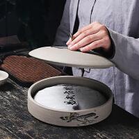 茶叶罐陶瓷密封罐存茶罐收纳盒大号醒白茶叶盒家用