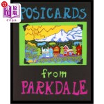 【中商海外直订】postcards from parkdale