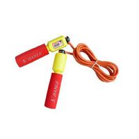 健乐343学生训练电子计数 家用瘦身减肥跳绳 2.8米绳子专业比赛