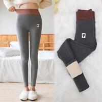 【加绒加厚】秋冬季加绒加厚女士打底裤保暖显瘦外穿韩版高腰 2XL (80-120斤)