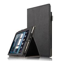 E人E本K8s/T8s保护套7.85商务平板电脑皮套全包边支撑外壳套 黑色【K8S商务款】