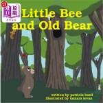 【中商海外直订】Little Bee and Old Bear